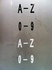 All Numbers & Letters, Black or White 100mm Pack of 20  FOR SALE + MOB NUMBER