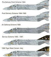 Zoukei-Mura 1/48 F-4J Phantom II Marking Set Vol.1 (2pcs) for #SWS48-04