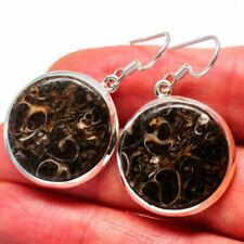 Pendientes de joyería con gemas Ana Silver Co. ágata