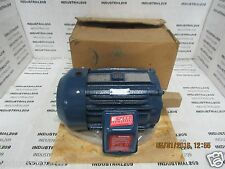 A.O. SMITH MOTOR P/N F-391322-65 CAT E260 3 HP RPM 1760 FR 182T NEW IN BOX