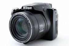 Nikon COOLPIX P100 10.3MP Digital Camera Black [Exc+++] w/Strap Japan [5216]