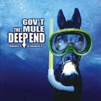GOV'T MULE - DEEP END VOL.1 & 2 3 CD NEW!
