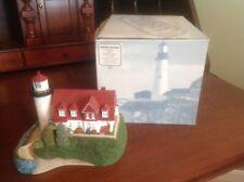 Harbour Lights 1998 #218 Point Betsie Michigan Lighthouse W/ Box