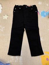 burberry children girl black jean 3Y