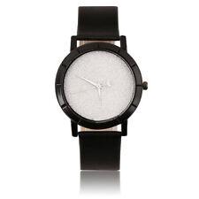 Star Minimalist Women Men Fashion Watches for Lovers Leather Strap Quartz Watch Hot Pink