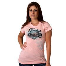 Frauenshirt V Twin HD Biker&OldSchoolmotiv Modell Timeless Classic