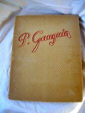 GAUGIN MAURICE MALINGUE COPYRIGHT 1948 PAPER HARDCOVER