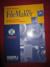 MARTIN BOHMER,FILE MAKER PRO VERSIONE 3 E 4 PER MACINTOSH E WINDOWS,HOEPLI,97-A3