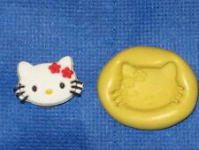 Push Mold Hello Kitty Food Safe Silicone #807 Cake Chocolate Resin Clay