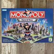 2006 Monopoly Here And Now Edition Parker Brothers 100% COMPLETE