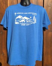 New listing Vintage 80's American Lung Association Tee Colorado Champ Camp Stoner T-shirt Xl