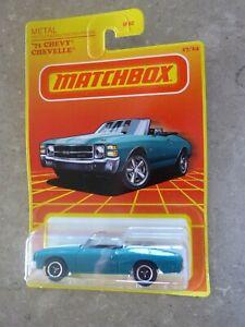 Matchbox 71 Chevy Chevelle