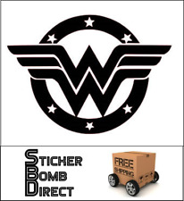 Wonder Woman Decal Sticker DC Comics JDM Girl Active DC Comics Justice League WW