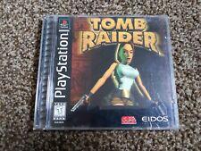 Tomb Raider (playstation 1) black label