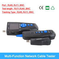 Noyafa NF-8601S TDR Cable Length Tester Wire Tracker lan BNC POE &PING Detector
