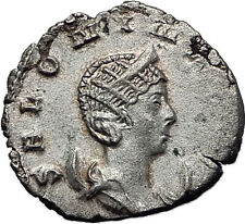 SALONINA GALLIENUS wife 257AD Cologne Ancient Silver Roman Coin Felicitas i58530