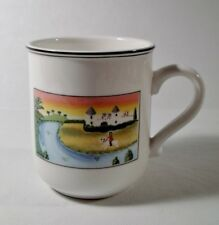 Villeroy & Boch DESIGN NAIF Man On Horse MUG Mint