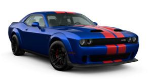 1/18 GT Spirit Dodge Challenger Super Stock 2021 Indigo Blue Livraison Fin Août