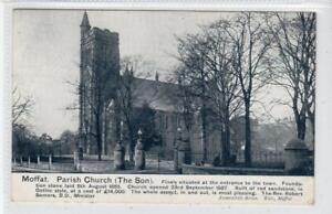 PARISH CHURCH (THE SON), MOFFAT: Dumfriesshire postcard (C61578)