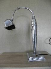 lamp art deco pirouett table desk Light machine age vintage office BAUHAUS floor