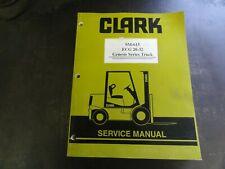 Clark ECG 20-32 Genesis Series Truck Forklift Service Manual  SM-615