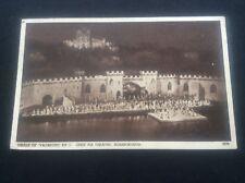 Vagabond King Finale Open Air Theatre Scarborough Postcard RPPC