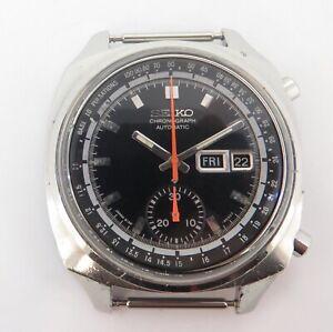 Vintage Seiko 6139 - 6001 Steel Mens Chronograph Pulsations Watch