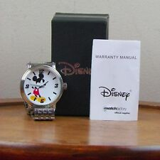 Mickey Mouse Watch Ewatch Factory Disney Stainless Steel Japan Movement