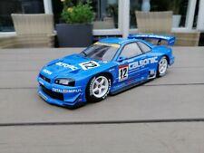 AUTOart 80276 # Nissan Skyline R34 GTR No.12 JGTC 2002 1:18 OHNE BOX