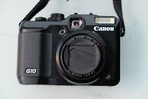Canon PowerShot G10 schwarz - Serien-Nr.: 8738510277