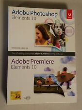 Adobe Photoshop Elements and Premiere Elements 10 for PC, Mac
