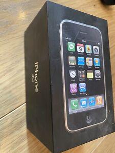 Genuine APPLE IPHONE 3G BLACK EMPTY BOX 16GB MB496B/A