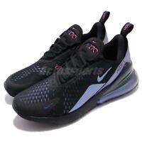 Nike Air Max 270 Throwback Future Black Laser Fuchsia Purple Men Shoe AH8050-020