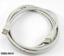 10 feet USB Hi-Speed 2.0 A Male to A Male Cable / Cord