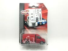 Majorette VW Volkswagen Crafter Red city Tour Car Model Racing Diecast
