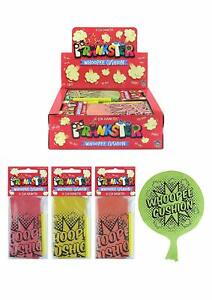 WHOOPEE CUSHION FART TOYS BOYS GIRL GIFT FAVOUR LOOT PARTY BAG FILLERS JOKE