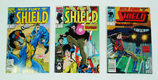 Nick Fury Agent of SHIELD Marvel Comic Book Lot
