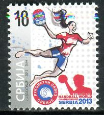 0611 SERBIA 2013 - Handball World Championship - MNH Set