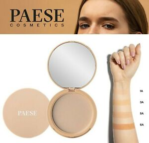 PAESE Semi Transparent Matte Powder Make-Up Fixer Light Coverage + Sponge 9g