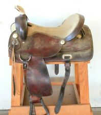 """King Series Tough 1"" 16"" Barrel/Trail/Western Saddle"