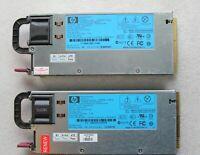 2 X Netzteil HP 460W Power Supply 511777-001 HSTNS-PL14 499249-001 499250-201