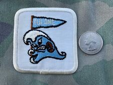 Tulane Green Wave Vintage Embroidered Iron On Patch Old Stock