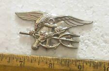 US Navy - Special Warfare / Seals Trident – Silver Insignia Badge (NOS)