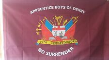 ABOD FLAG APPRENTICE BOYS OF DERRY LOYAL ORDERS LOYALIST THE 13  LONDONDERRY LOL