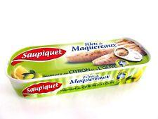 Saupiquet Makrele in Zitronen und Oliven Marinade 176 g Dose