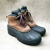 Itasca Mens Ice Breaker Sz 8 M Brown Insulated Lace Up Winter Snow Boots