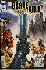 THE BRAVE AND THE BOLD (BATMAN AND WONDER WOMAN) #4  DC COMICS (2018)