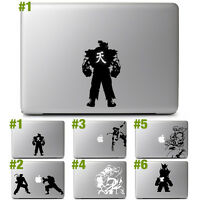 Capcom Street Fighter Vinyl Decal Sticker for 11 13 15 17 Macbook Air Pro Laptop