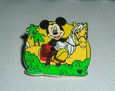DISNEY MICKEY MOUSE HORSE PIN CAST LANYARD COLLECTION 2