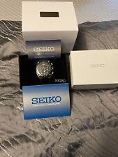 Seiko W/box Sportura Kinetic Chronograph Watch RARE LTD Japanese Edition. Mint